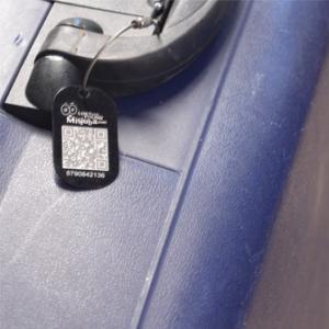 Koffer en tas labels